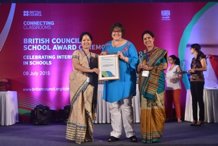 Sarala Birla Gyan Jyoti gets International School Award accreditation (2015-18)