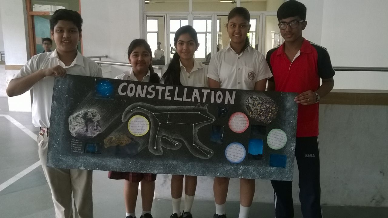 Astronomy Week- Collage by students of Class VIII